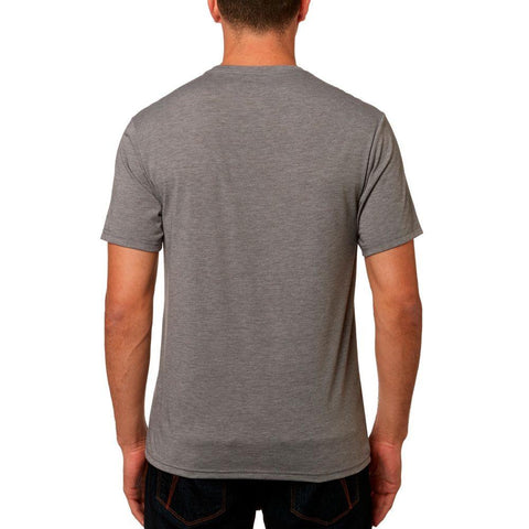 Fox Racing, Aviator SS Tech Tee, Mens T-shirts, grey, graph, 185, 23108