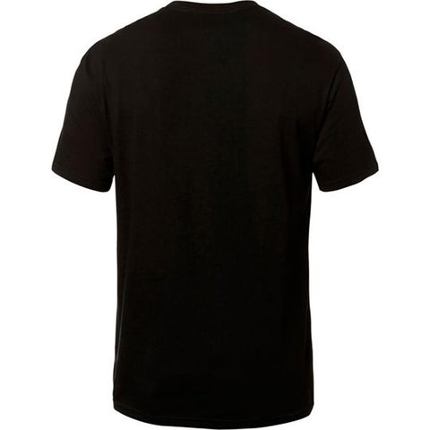 Fox Racing, Mens short sleeve tee, Heritage Forger Tech Tee, Black, 22079-021 Back view