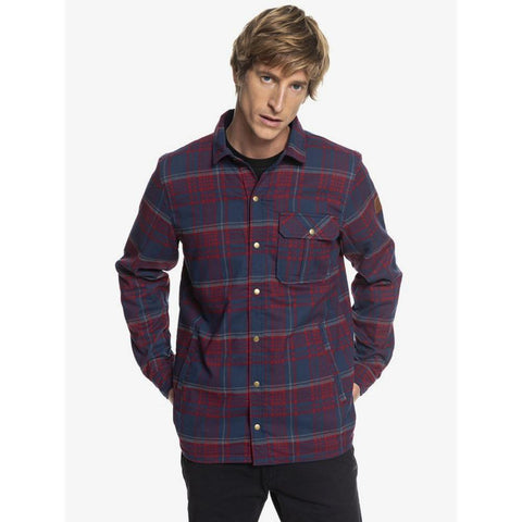 Quiksilver Wildard Plaid Waterproof Jacket