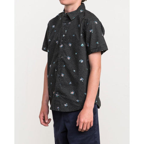RVCA Boys Scattered Printed Shirt
