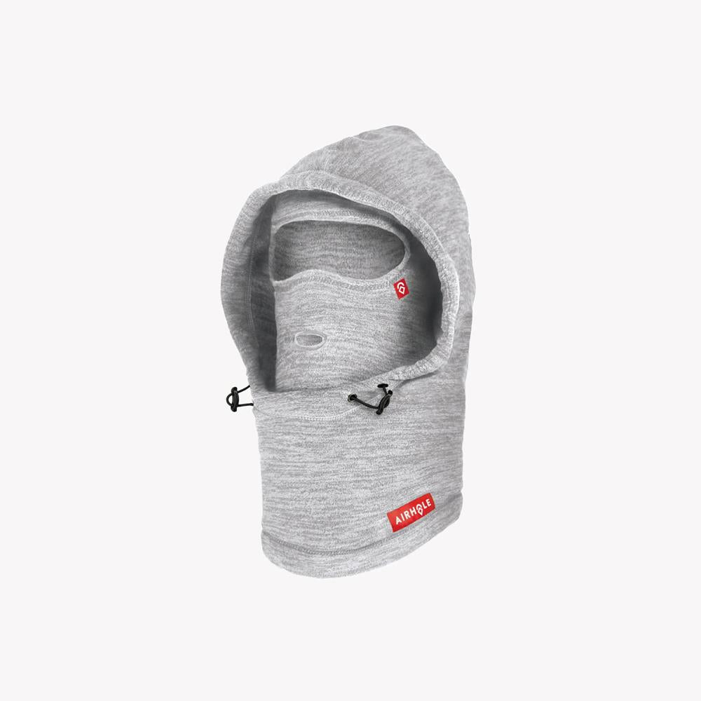 AHB13MF-HRGY, Heather Grey, Airhole, Airhood Balavlava, Facemasks, Winter, Outerwear