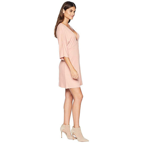 Amuse, Belleza Dress, Womens Dresses, Casual Dress, Pink, AD05JBEL, side View