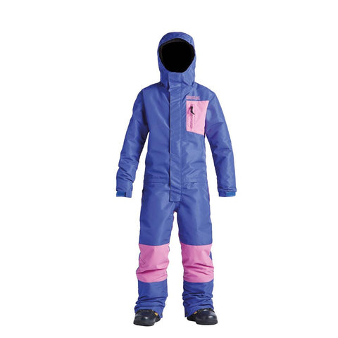 ab20ks1-pbg Airblaster Youth Freedom Suit purple bubblegum front