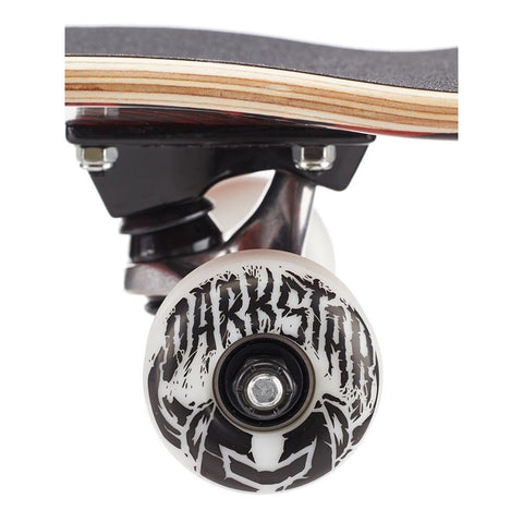 10512257, Darkstar, Civil FP Complete, Complete Skateboard, Red, Wheel View