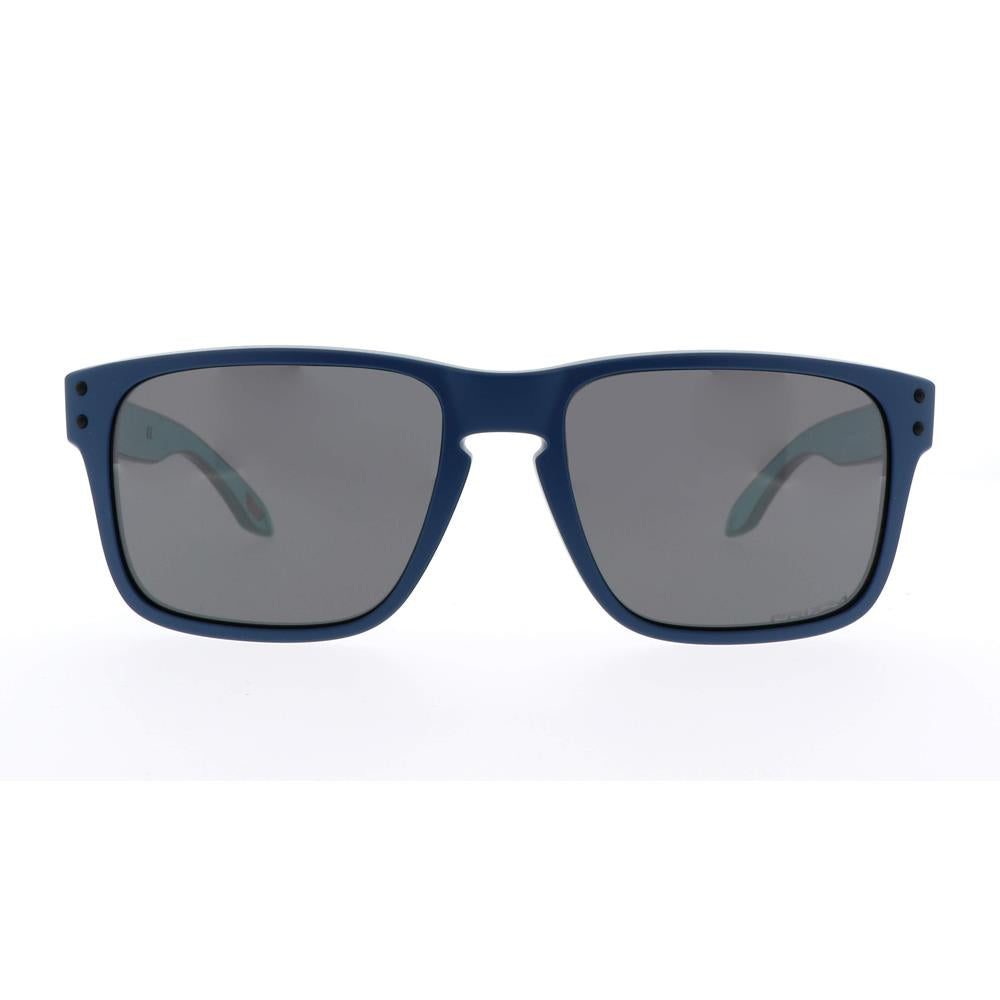 OJ9007-0453, HOLBROOK XS MATTE POSEIDON WITH PRIZM BLACK, YOUTH SUNGLASSES, SPRING 2020, BLUE FRAMES, BLACK LENS