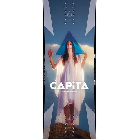 1911255, Capita, Defenders Of Awesome, Mens Freestyle Snowboards, Winter 2020, Red, Blue, Close up