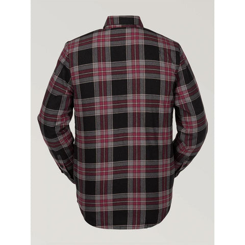 G0152002-RED, RED, VOLCOM, SHERPA FLANNEL JACKET, MENS JACKETS, WINTER 2020