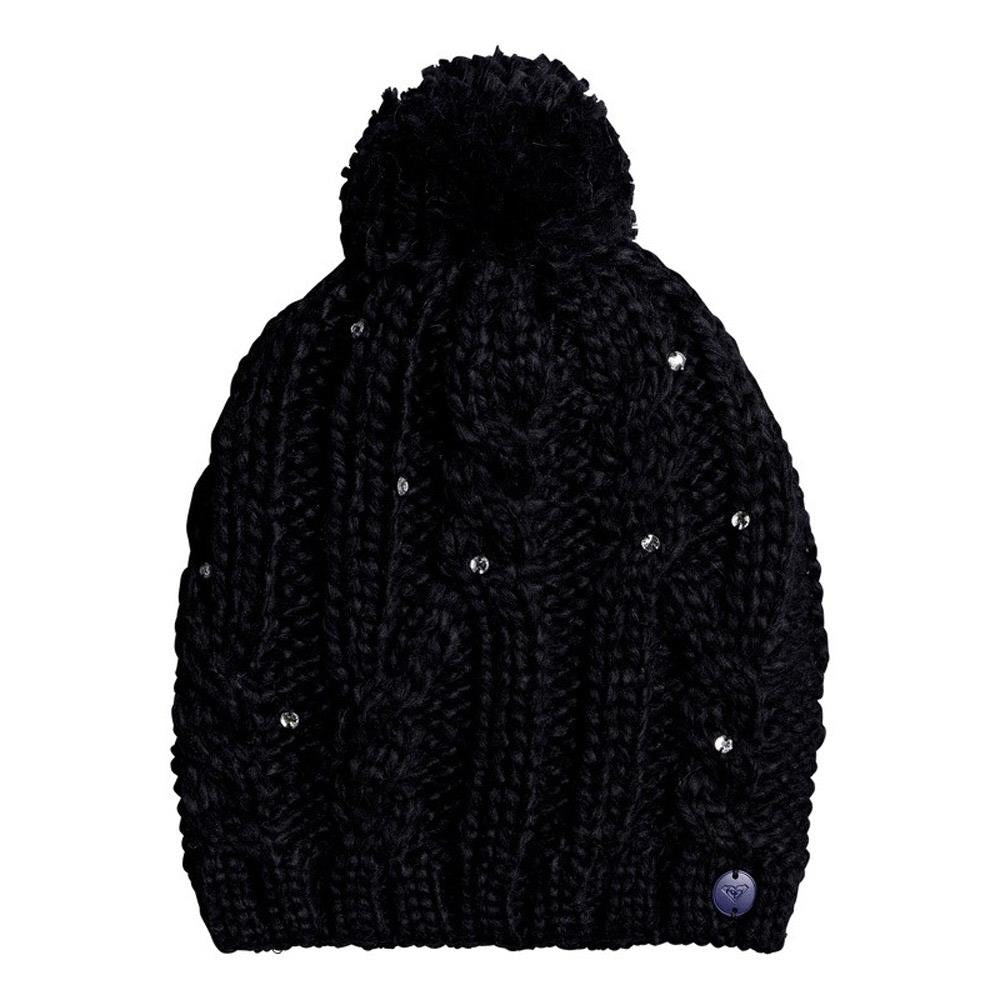 Black, KVJ0, Shooting Star beanie, Girls outerwear, Roxy, 7-14 years old,