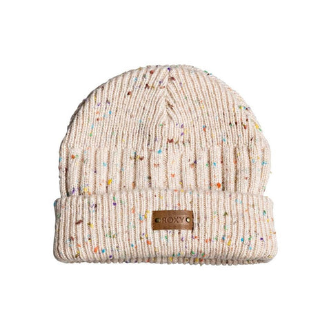 Taylor Street Cuff Beanie, Roxy, Wbb0, Bright white, Girls outerwear 7-14 years old