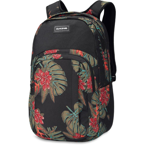 10002633-JUNGLEPALM, GREEN, RED, BLACK, DAKINE, CAMPUS L 33L BACKPACK, SCHOOL BACKPACKS, FALL 2019