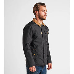Roark, RJ196.BLK, Axeman Jacket, Mens Winter Jackets, Winter 2019, Side View