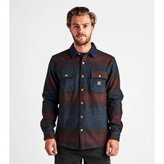 RW447.BUR, Nordsman Flannel LS Woven Shirt, Burgundy, Mens Shirts, Fall 2019
