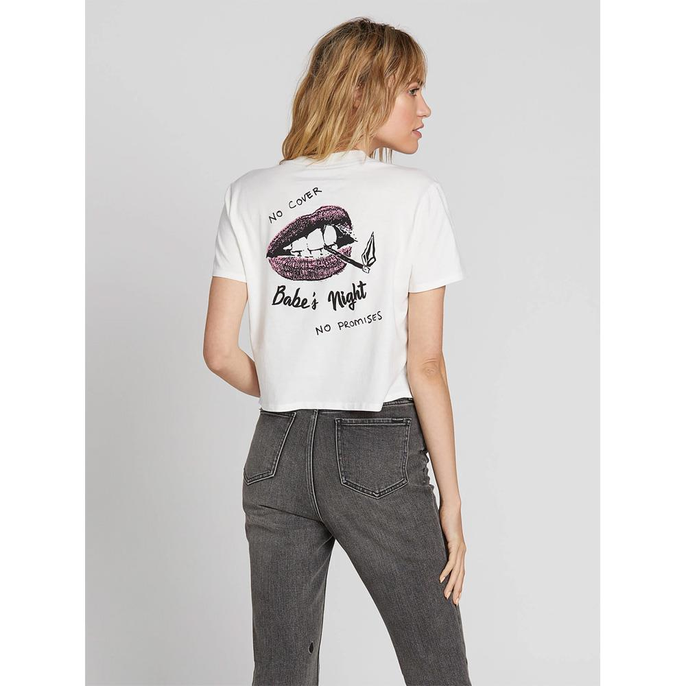 B3531902-SWH, STAR WHITE, MADE FROM STOKE TEE, VOLCOM, WOMENS T-SHIRTS, CROPPED TEE, FALL 2019, BACK VIEW
