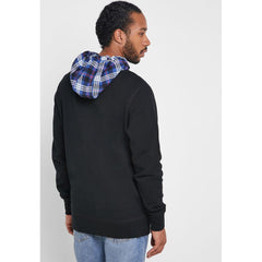 HUF-FL00085, BLACK, HUF, VICIOUS PULLOVER HOODIE, MENS HOODIES, FALL 2019, BACK VIEW