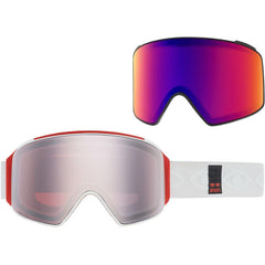 20354101172, M4 CYLINDRICAL EYES/SONAR SILVER, MENS GOGGLES, WINTER 2020