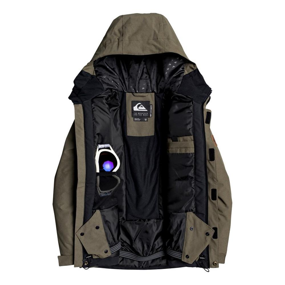 EQBTJ03093-CRE0, Grape Leaf, Raft Snow Jacket, Quiksilver, Youth Outerwear, Snowboard Jacket, Open View