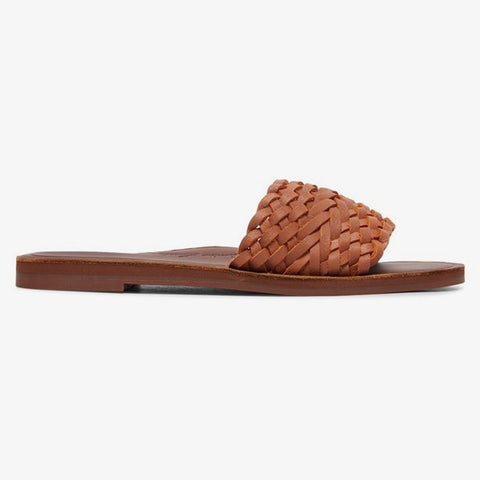 ARJL200759-TAN, ROXY, ARABELLA, WOMENS LEATHER SANDLAS, WOMENS FASHION SANDALS, SPRING 2020