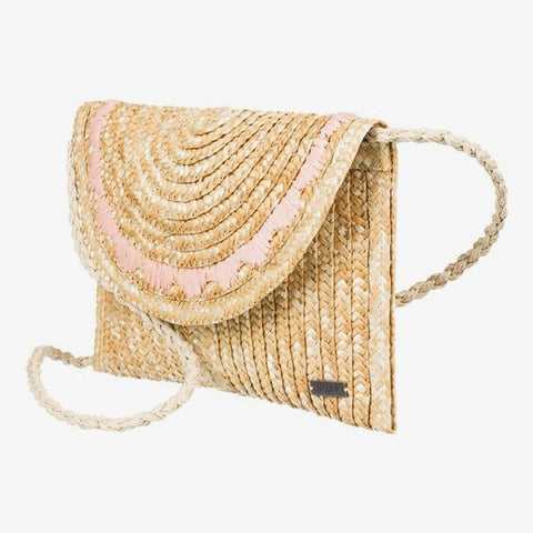ERJBP04097-YEF0, NATURAL, ROXY, SALTY BUT SWEET .05L SMALL STRAW SHOULDER BAG, WOMENS PURSES, SPRING 2020