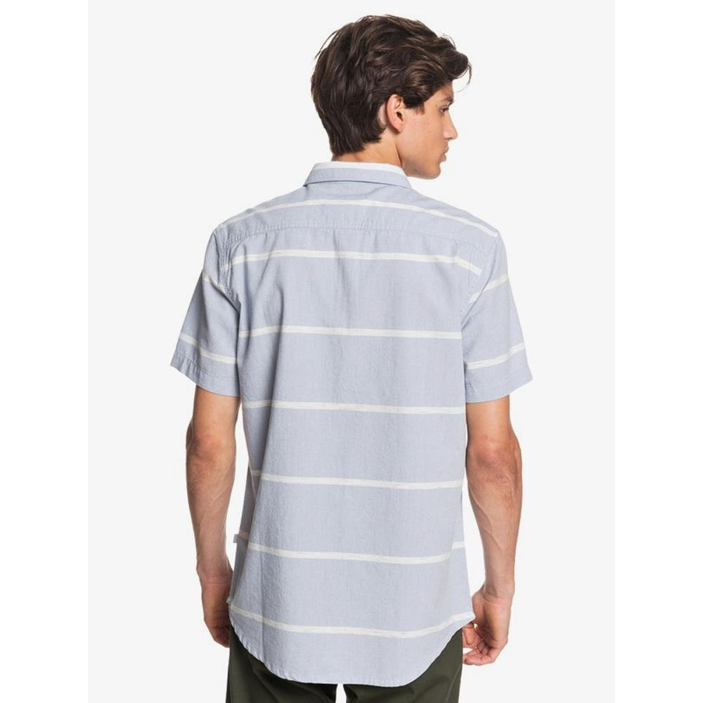 EQYWT03978-BKJ3, STONEWASH KALUA KOBI, BLUE, QUIKSILVER, KALUA KOBI SHORT SLEEVE SHIRT, MENS SHORT SLEEVE BUTTON UP SHIRTS, SPRING 2020
