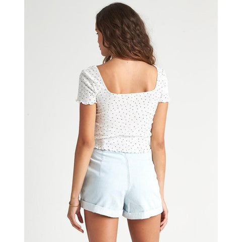 Billabong Squared Away Fashion Top