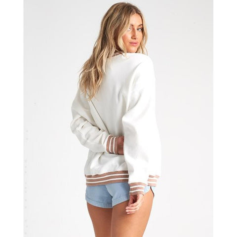 J6051BLO-SCS, SALT CRYSTAL, LOST PARADISE, WHITE, WOMENS CREW NECK SWEATERS, SPRING 2020