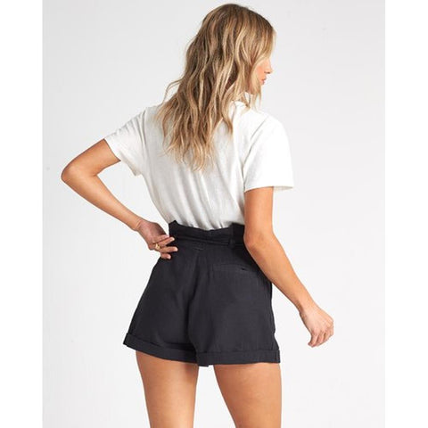 J201QBEX-BLK, BLACK, BILLABONG, EXPLORE MORE SHORTS, WOMENS SHORTS, SPRING 2020