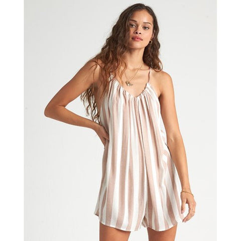 XV07UBDE-KHD, KHAKI SAND, BILLABONG, DEL SUR MINI, WOMENS BEACH COVER UPS, WOMENS ROMPERS, SPRING 2020