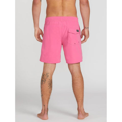 A2512005-DSP, DESERT PINK, PINK, LIDO SOLID TRUNK 16INCHES, VOLCOM, MENS BOARDSHORTS, MENS TRUNKS, SPRING 2020, BACK VIEW