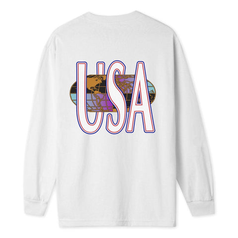 HUF Quake USA Long Sleeve Tee
