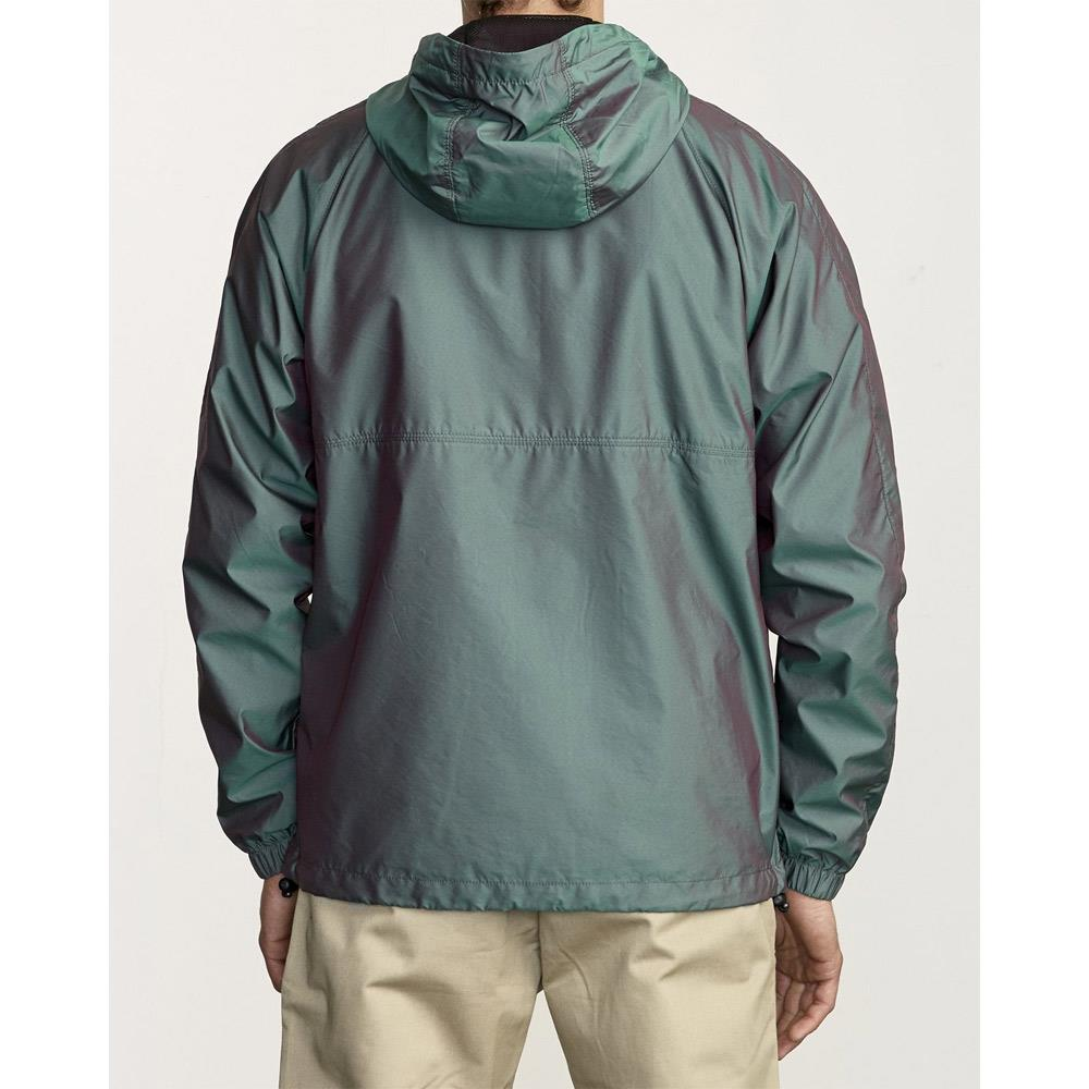 M7221RCY-MUL, MULTI, GREEN, RVCA, HAZED ZIP JACKET, MENS JACKETS, MENS WINDBREAKERS, SPRING 2020