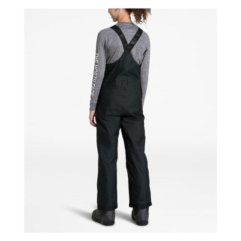 NF0A3NNX-JK3, BLACK, THE NORTH FACE, YOUTH FREEDOM BIB SNOWPANTS, YOUTH GIRLS SNOWPANTS, WINTER 2020