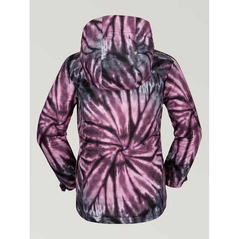 i0452006-pur Volcom Westerlies Youth Insulated Jacket purple back view