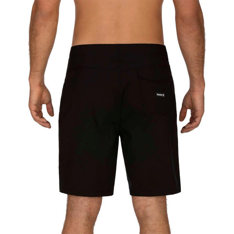 "CJ5117-010, Black, Hurley, ONE & ONLY 20"", Mens Boardshorts, Spring 2020, back view"