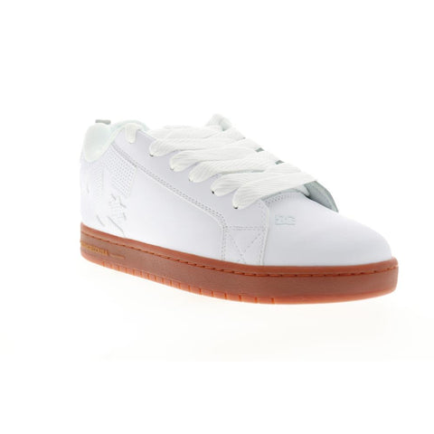 300529-103, GUM, WHITE, DC, COURT GRAFFIK, MENS SKATE SHOES, SPRING 2020