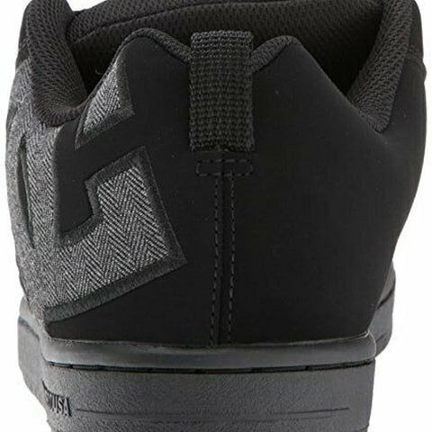 ADYS100442-BHE, BLACK HEATHER GREY, COURT GRAFFIK SQ SHOE, DC, MENS SKATE SHOES, HOLIDAY 2019