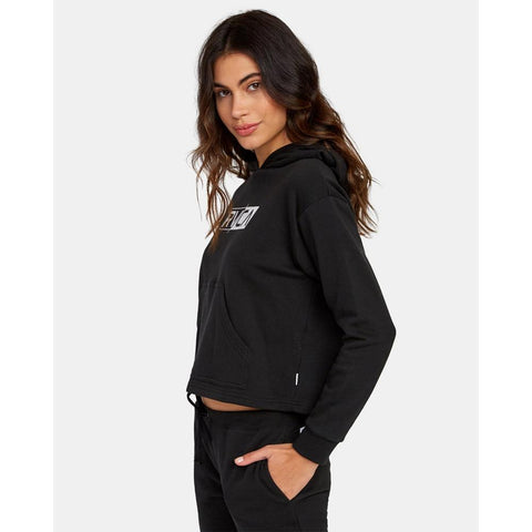 W635WRLA-BLK, BLACK, LATERAL RVCA HOODIE, WOMENS HOODIES, HOLIDAY 2019