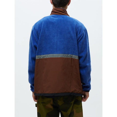 121800403.BMU, Blue Multi, Obey, Gallagher Jacket, Mens Jackets, Holiday 2019, Front view