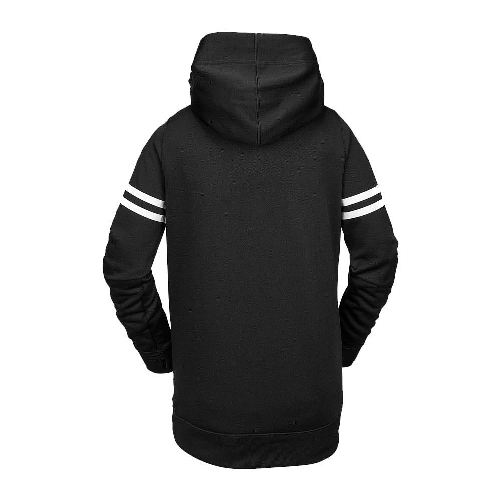 h2452002-blk Volcom Spring Shred Hoody black back view