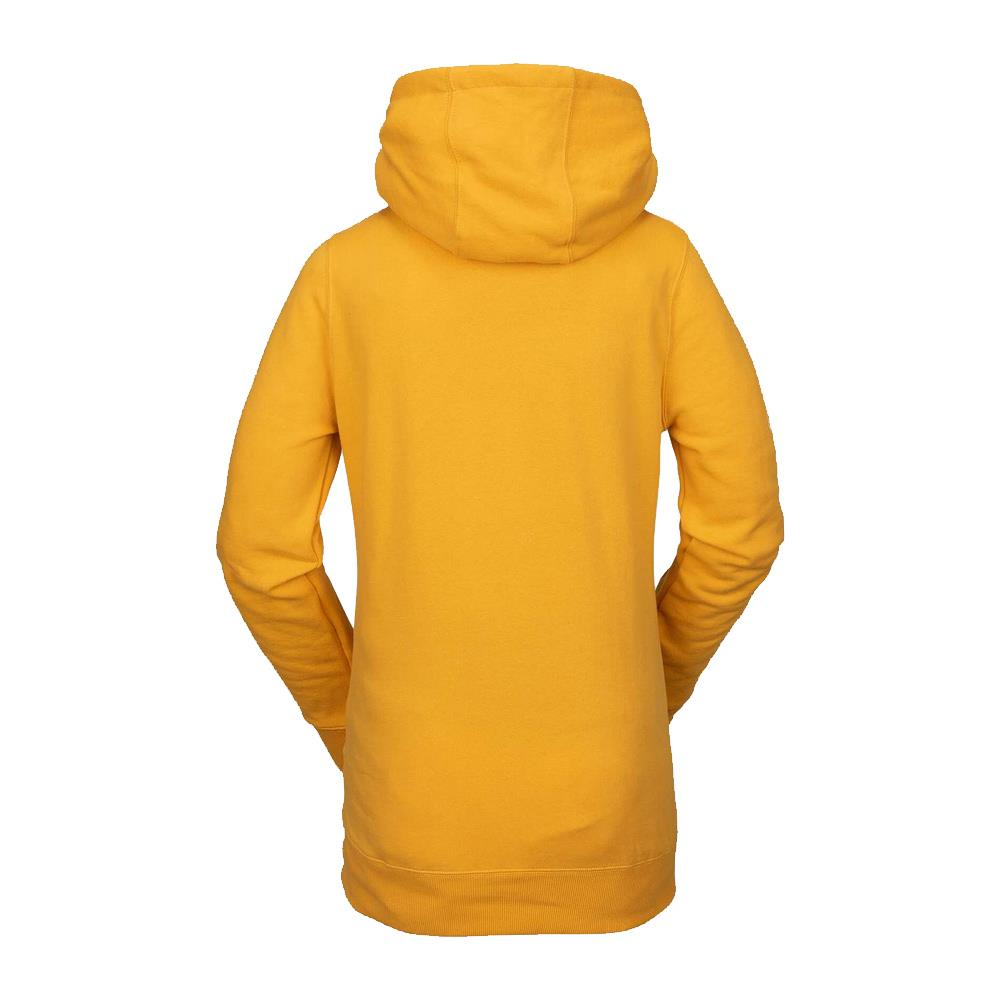 h2452006-yel Volcom Costus Pullover Fleece back view yellow