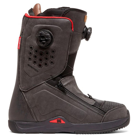 adyo100039-bl0 DC Travis Rice Mens Boa Snowboard Boots black side1 view