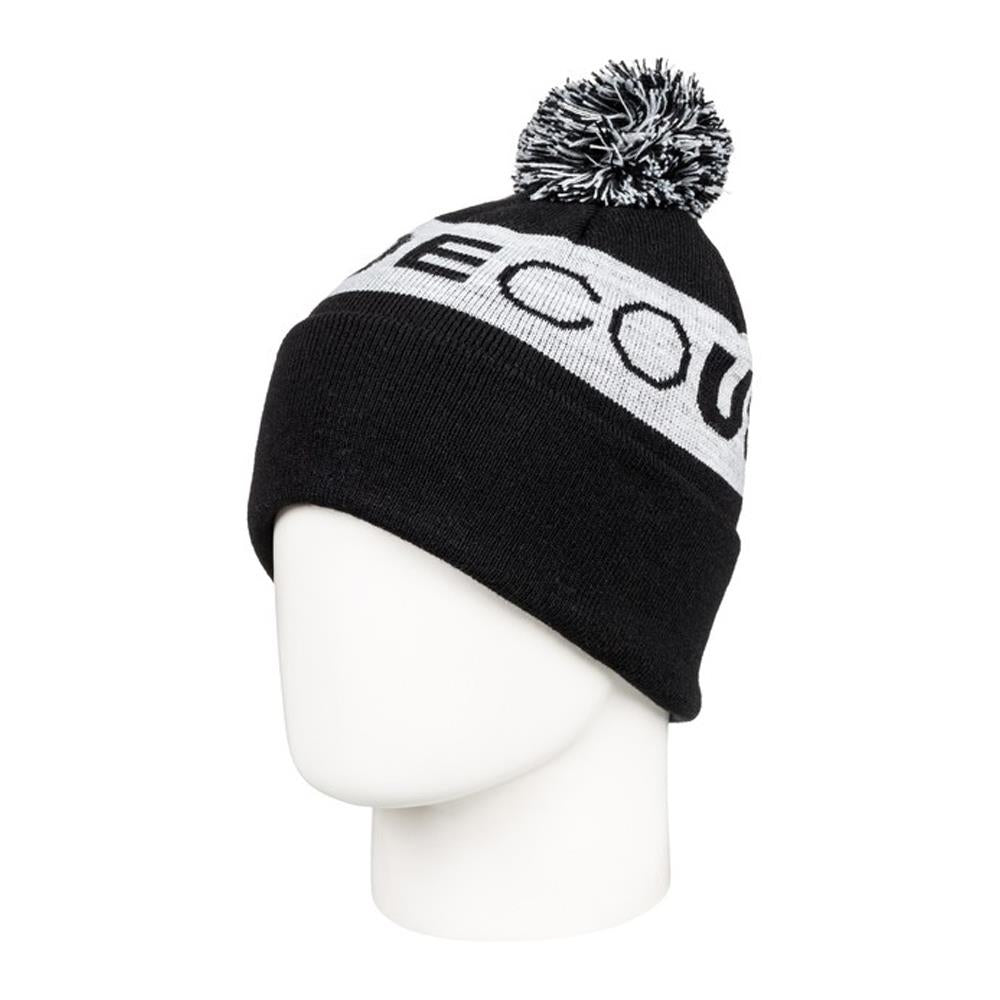 edbha03026-kvj0 DC Chester Youth Toque black overall view