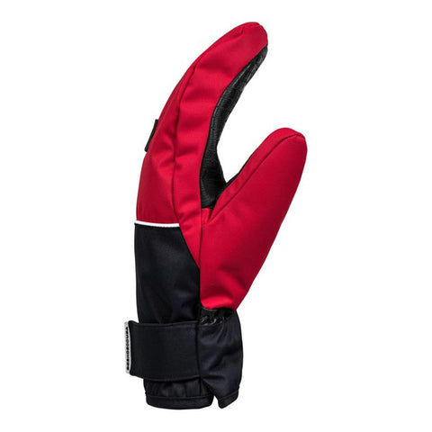 edyhn03046-rqr0 DC Franchise Mens Mitts racing red side view