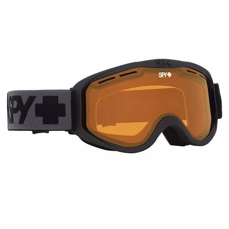 313347374471, Cadet Matte Black with Persimmon, Spy, Youth Goggles, Winter 2020