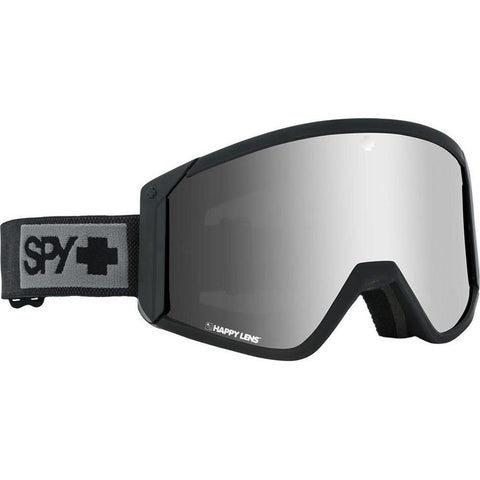 313074374436, Raider Matte Black with silver Spectra, Spy, Winter 2020, Mens Goggles