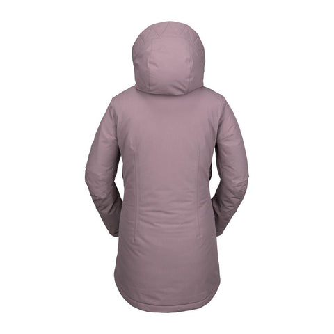 h0452003-puh Volcom Eva Insulated GoreTex Womens Jacket back view
