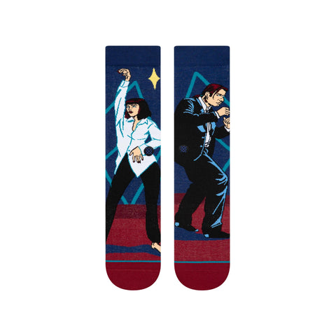 u545191wt-red Stance I Want To Dance Socks red front view