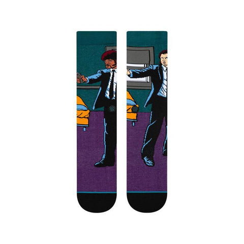 u545c19vin-pur Stance Vincent And The Jules Socks purple front view