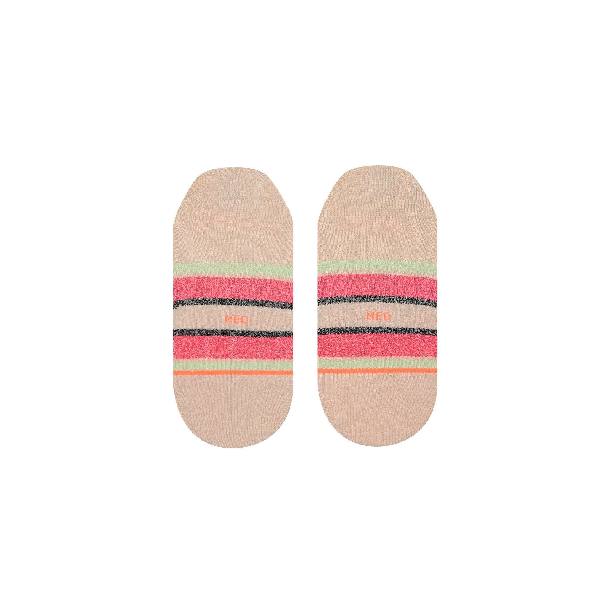 Stance Watermelon Stripe Womens Invisible Socks
