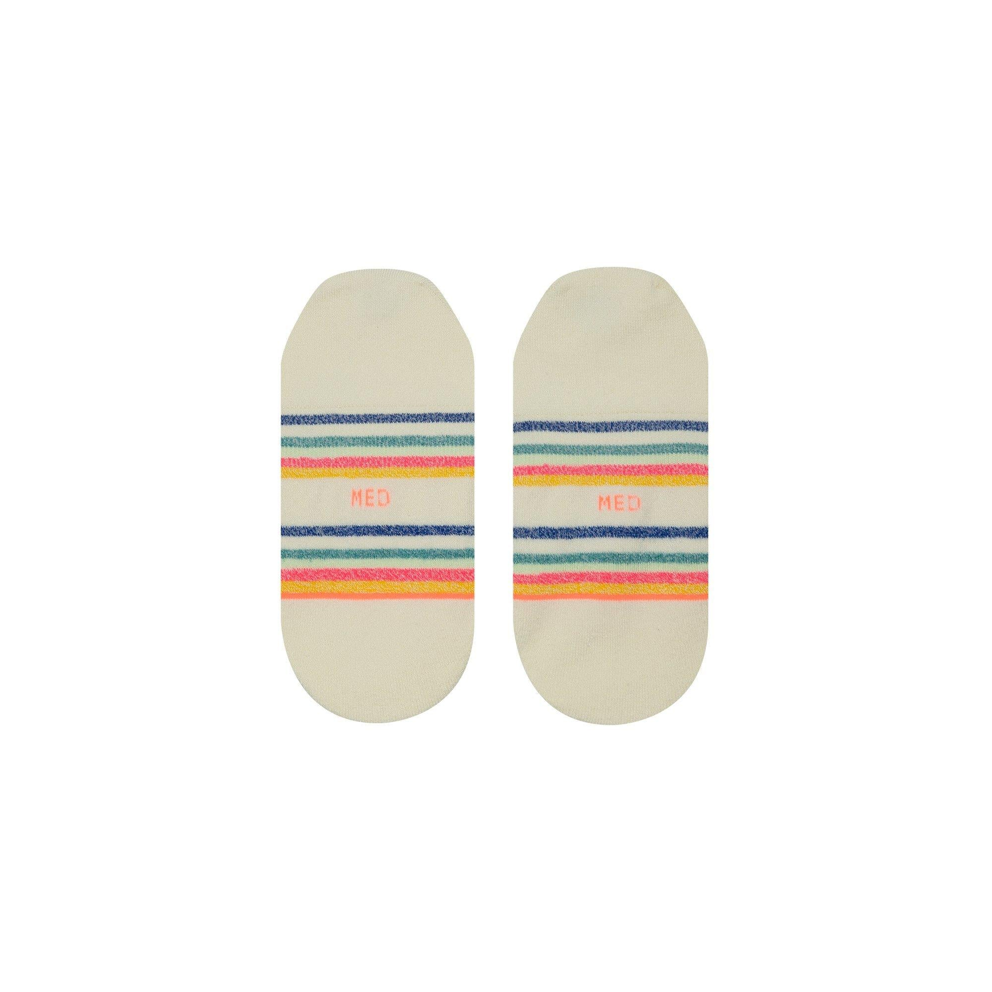 Stance Candy Stripe Womens Invisible Socks