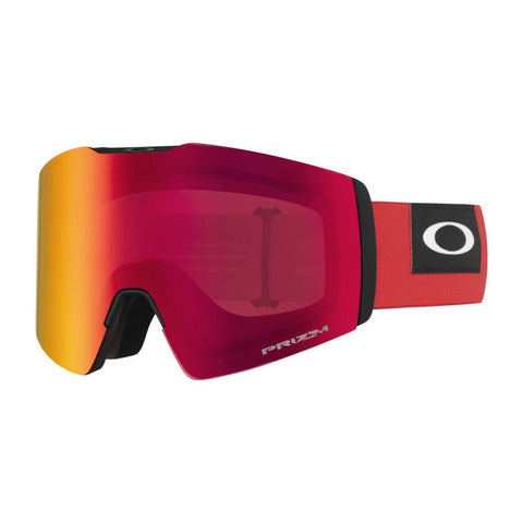oo7099-13 Oakley Fall Line XL Snow Goggle blockedout red/snow torch iridium side